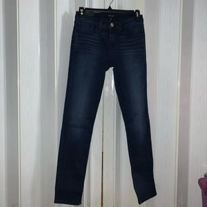 J Brand Mid Rise Skinny Jeans in Sway, 26W
